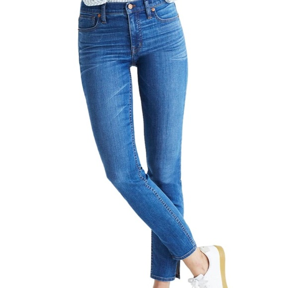 Madewell Denim - Madewell High-Rise Skinny Jeans: Side-Slit Edition